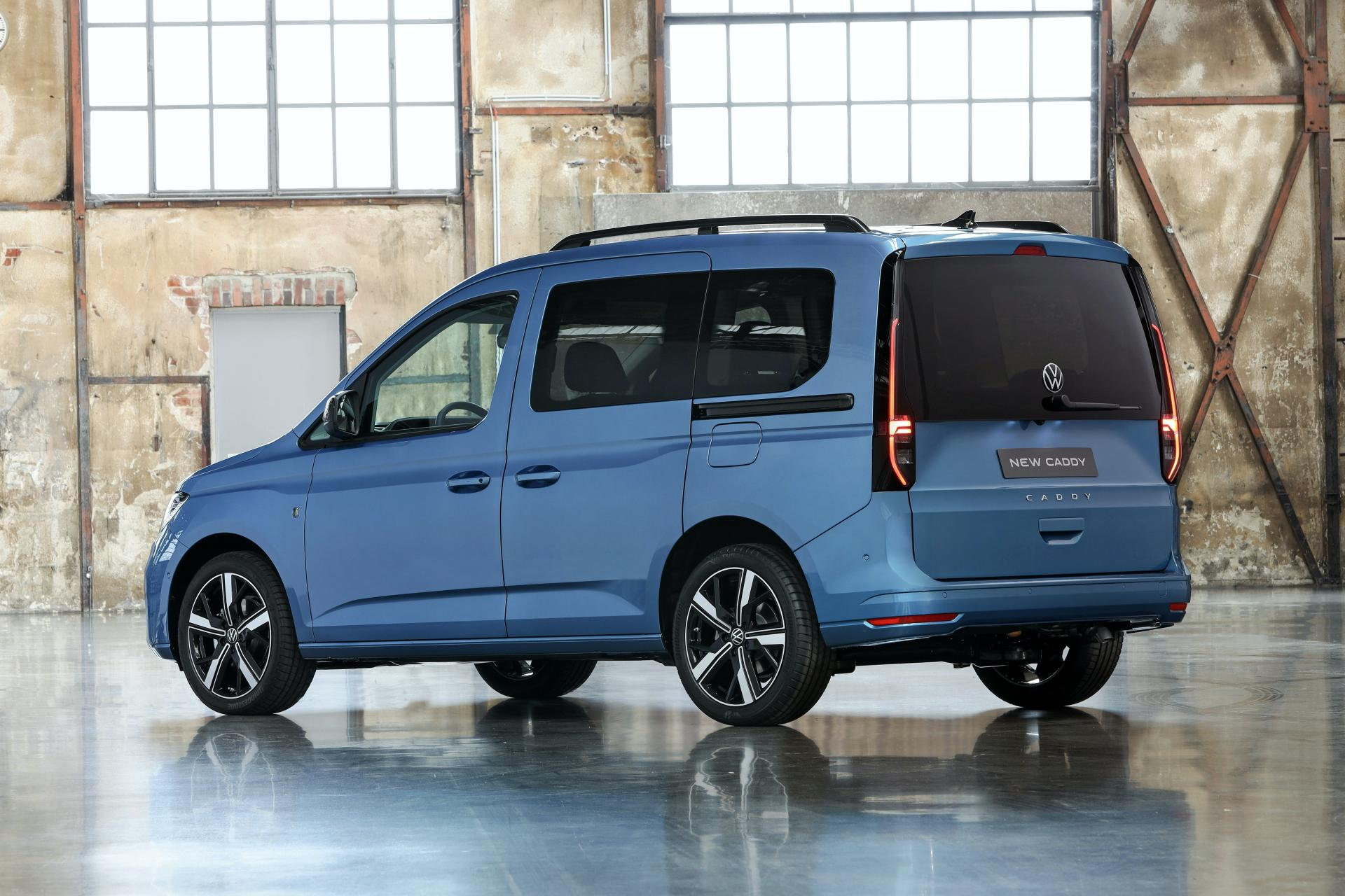 New 2021 VW Caddy Wraps MQB Underpinnings In Evolutionary ...