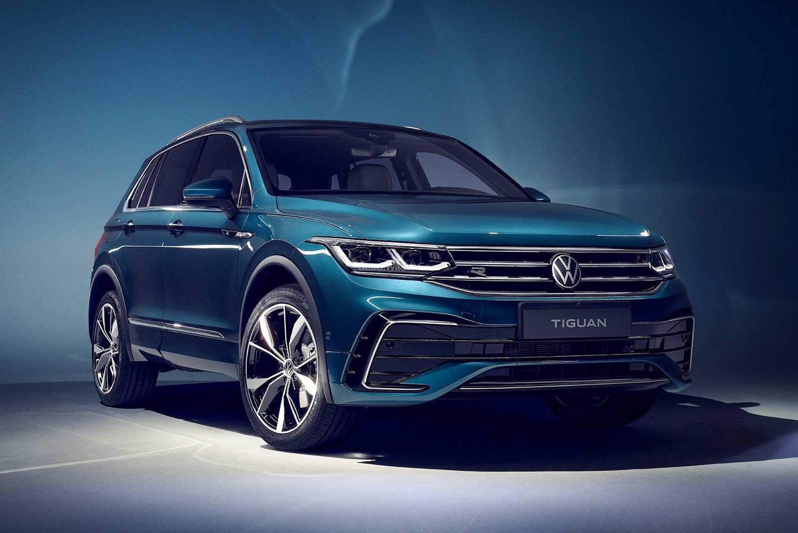 2021 Volkswagen Tiguan Facelift Revealed With Sharper Styling