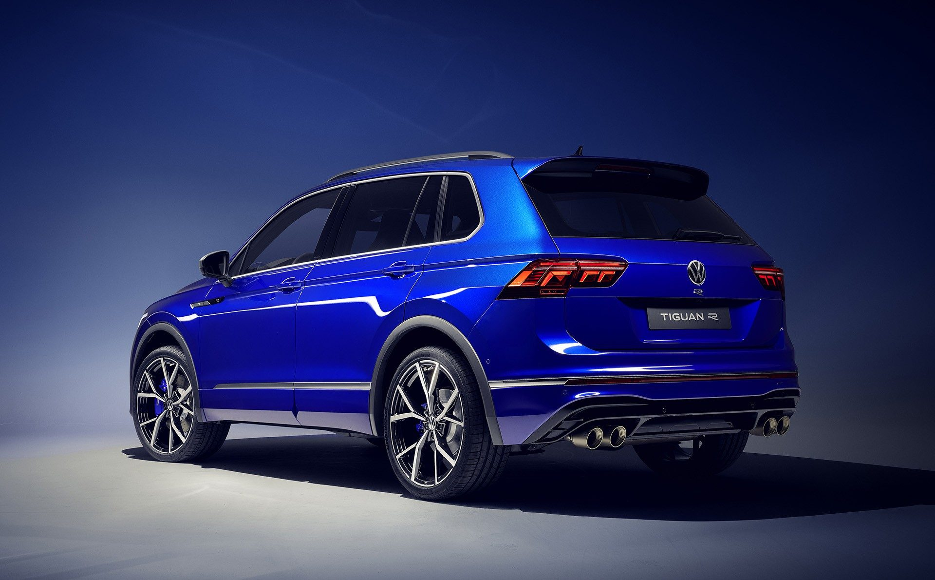 2021 VW Tiguan Facelift Debuts With New R Variant Pumping ...