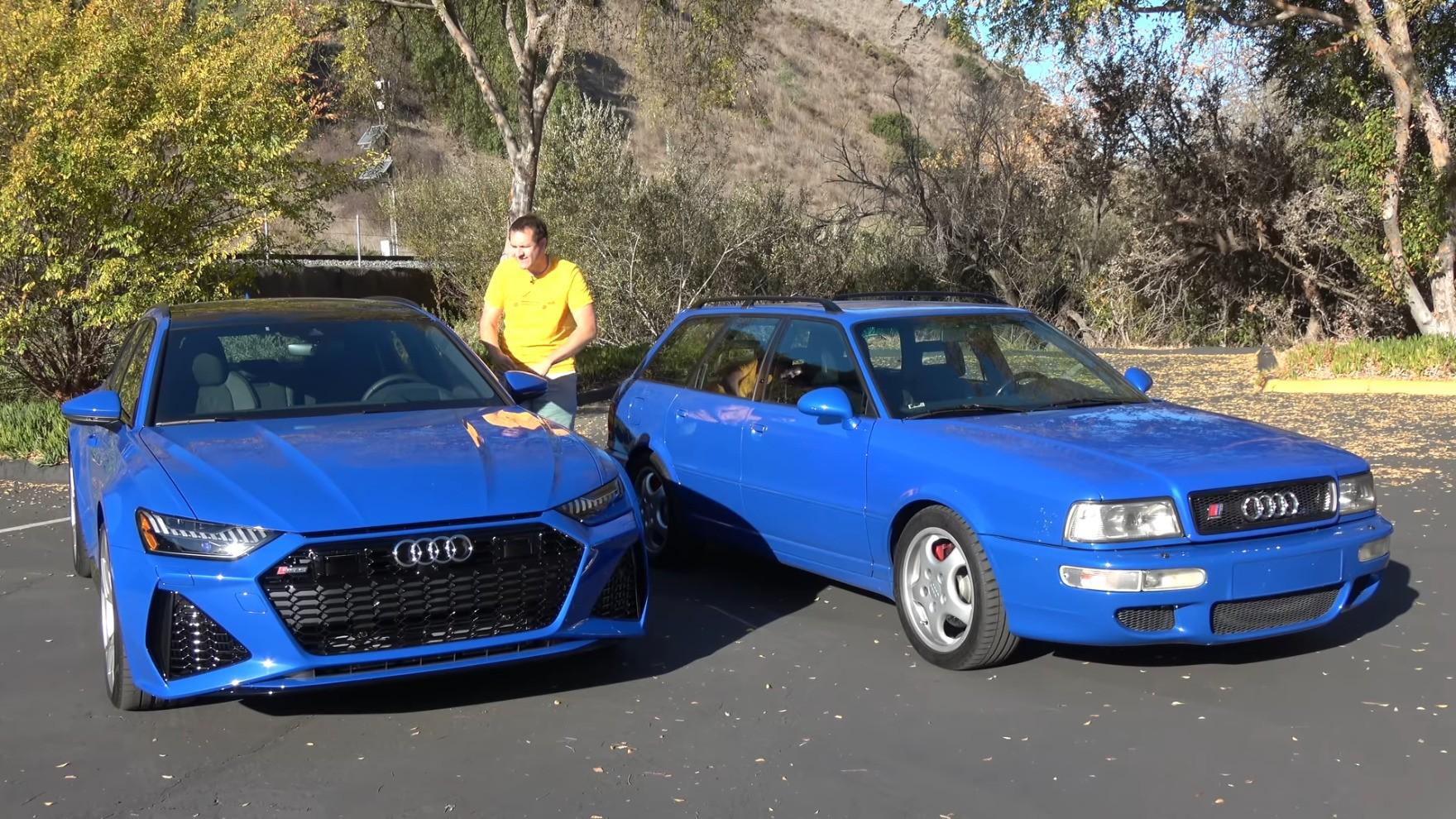 2021 Audi RS6 Avant Is Nothing Like His 1994 RS2 Avant ...