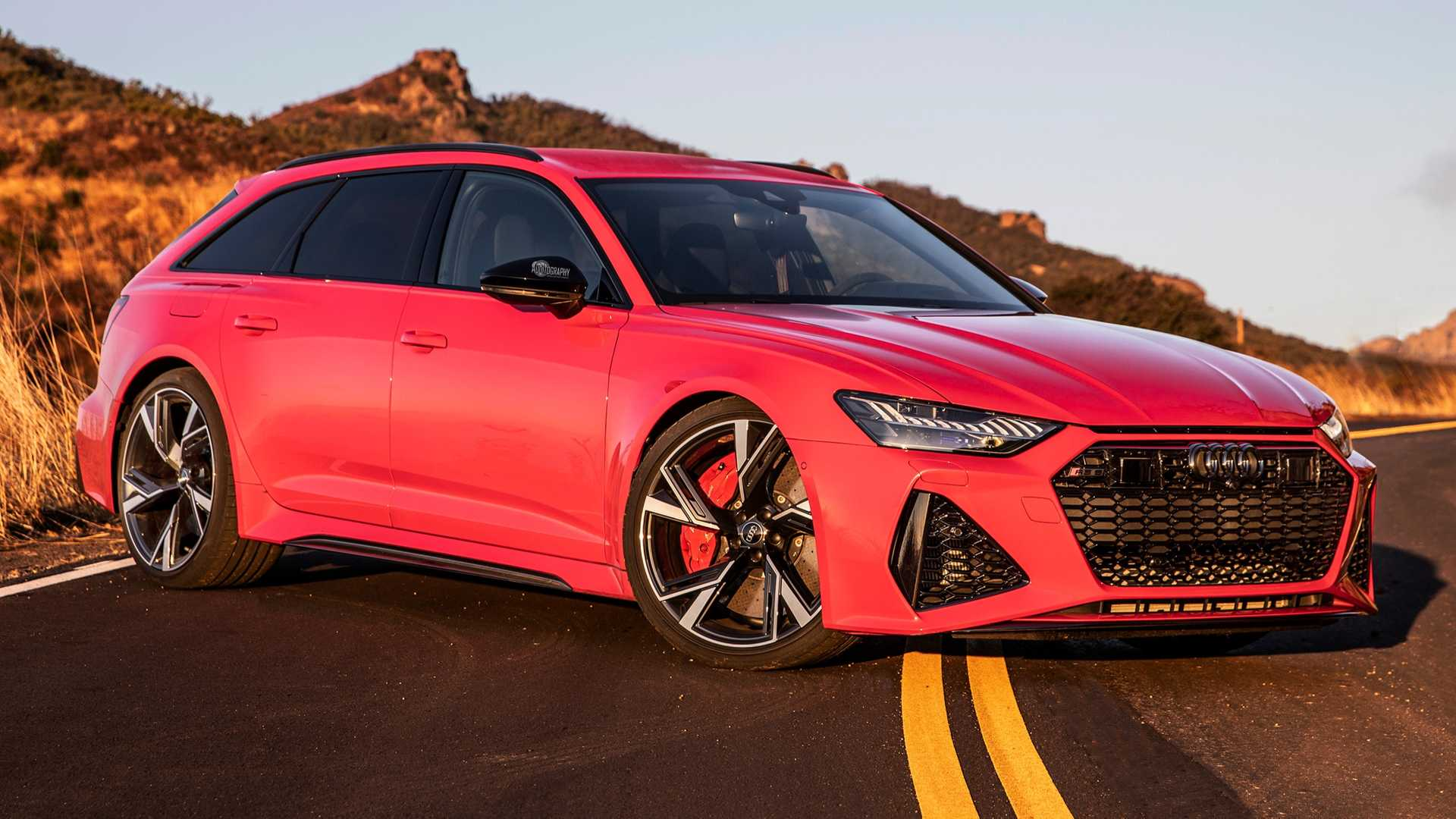 Watch The 2021 Audi RS6 Avant Accelerate Like A Supercar