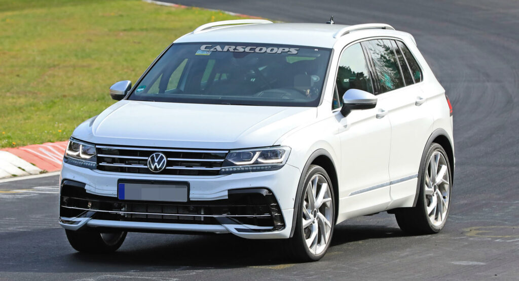 2021 Volkswagen Tiguan R Flexes Its Muscles On The ...