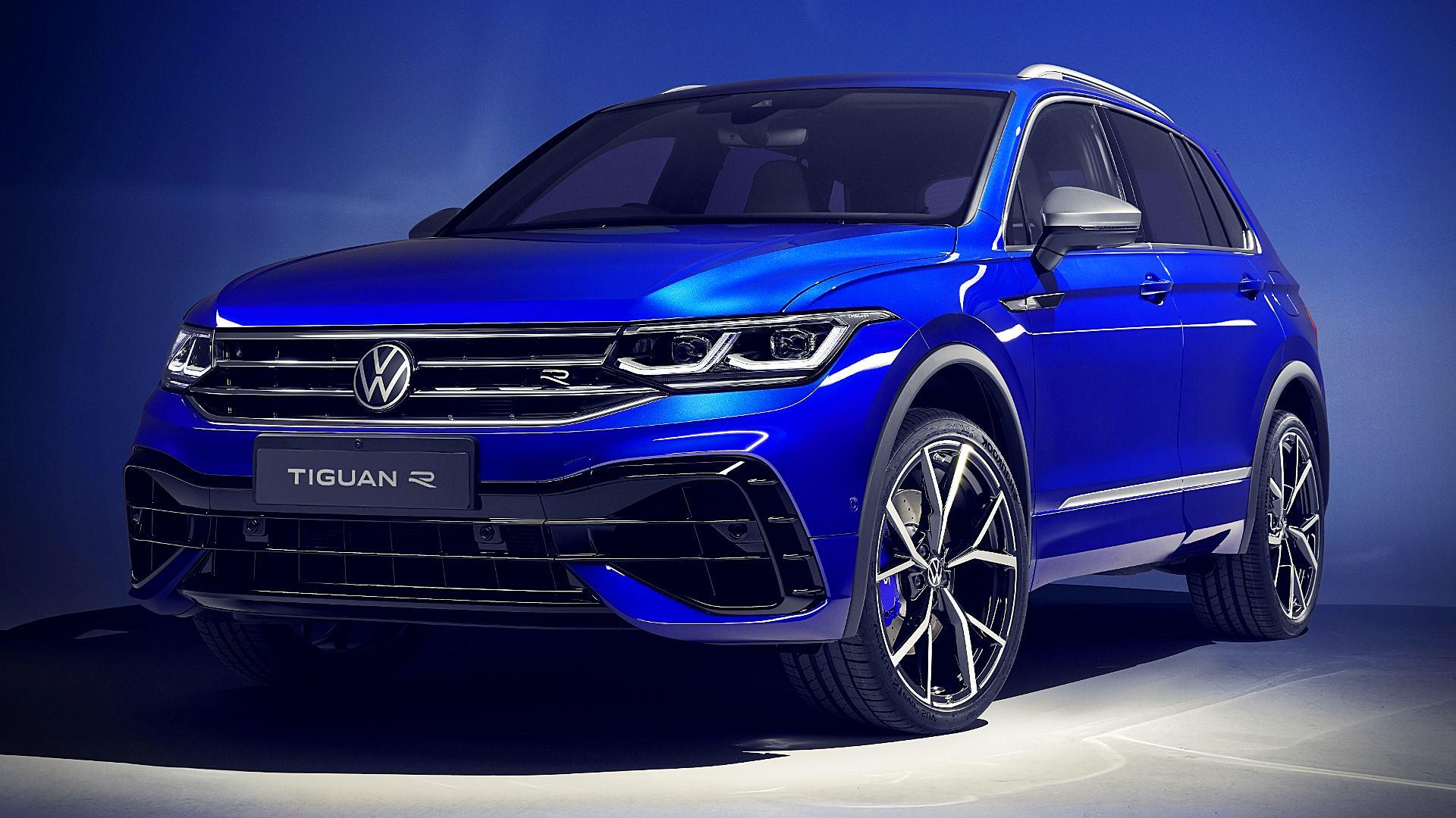 2021 VW Tiguan R Wallpaper Photos Pictures