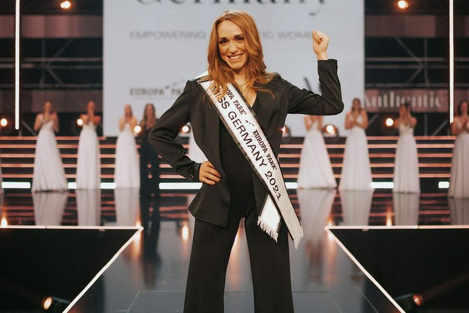 Miss Germany 2021: Die zweifache Mutter Anja Kallenbach ...