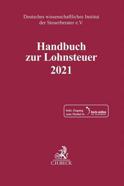 Handbuch zur Lohnsteuer 2021 - Buch | Thalia