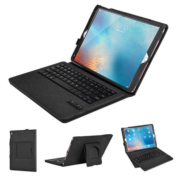 iPad Pro 10.5 Bluetooth Keyboard Case with Detachable ...