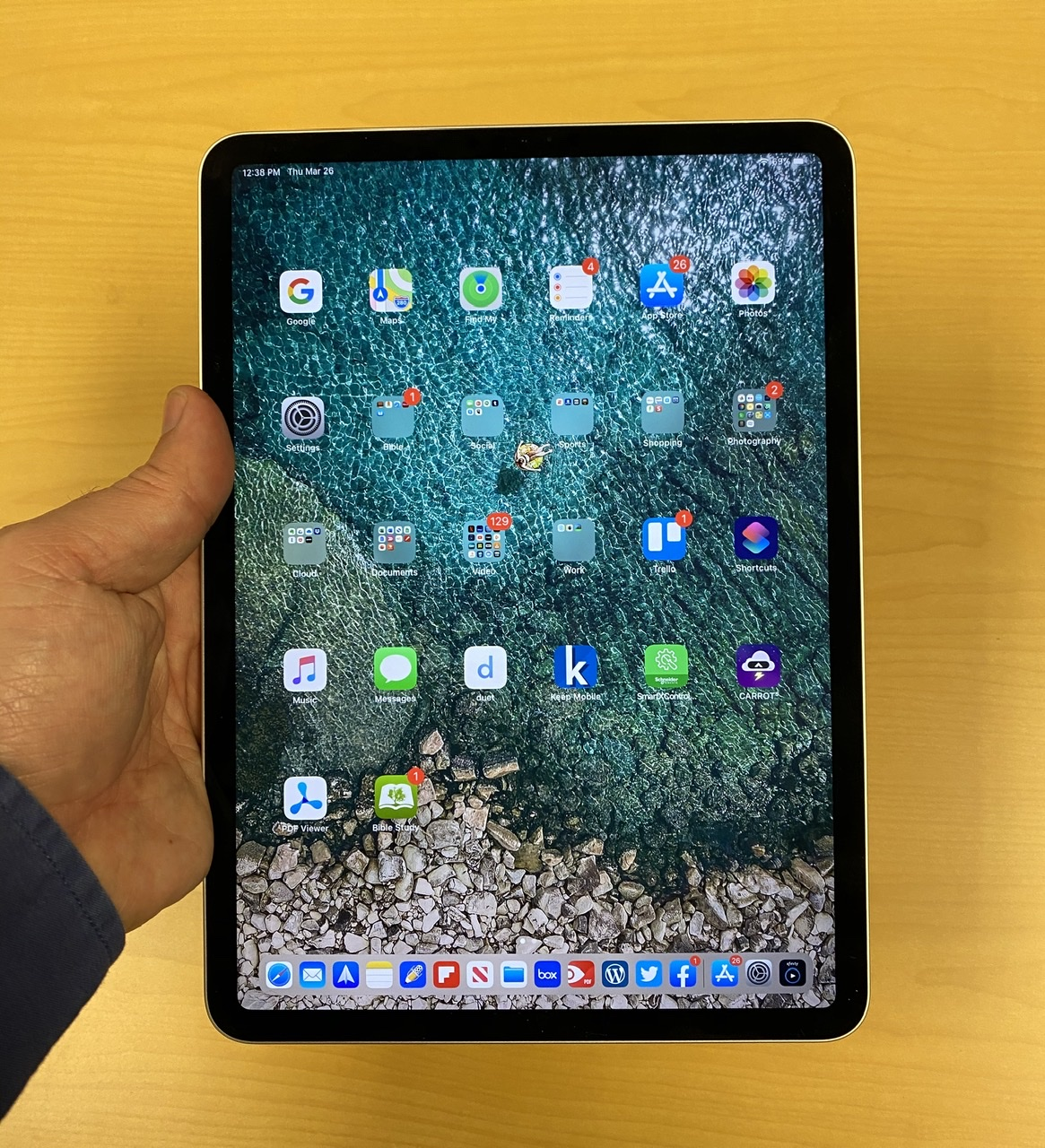 New Apple iPad Pro with miniLED Screen May Arrive in Q1 of ...