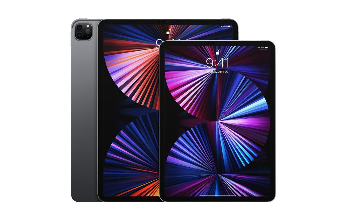 Contenido de la caja para minoristas del iPad Pro 2021 ...