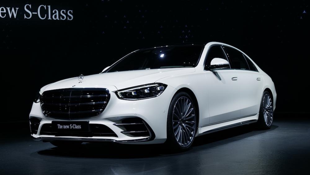Neue Mercedes S-Klasse Premiere 2021 V223 W223 - Autogefühl