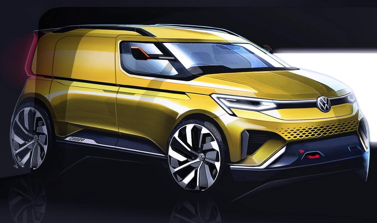 Novo VW Caddy 2021: imagens mostram design esportivo | CAR ...