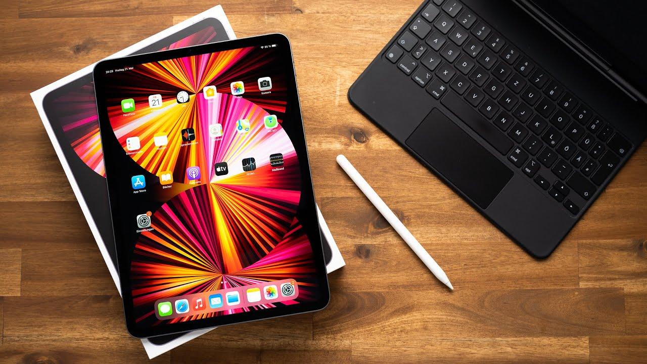 iPad Pro 11″ M1 2021 Space Gray Unboxing - UnboxingVideos.tv