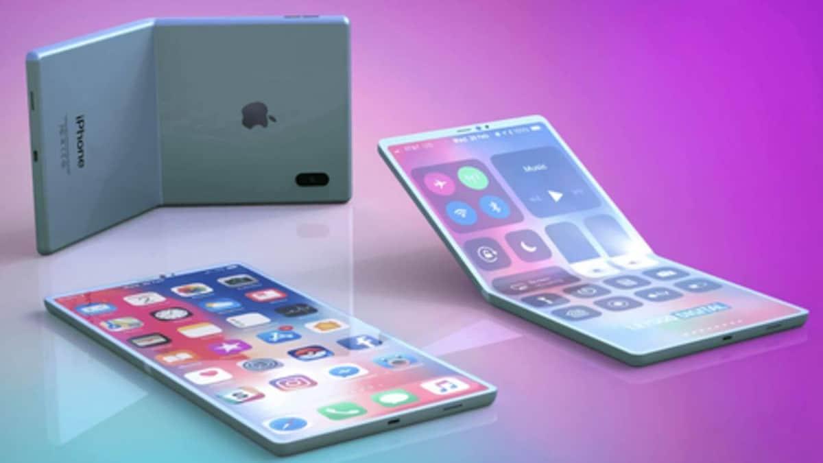 Apple : le premier iPhone avec écran pliable est quasiment ...