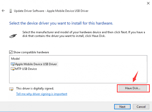 iPhone Driver Not Recognized by Windows 10 [Solved ...