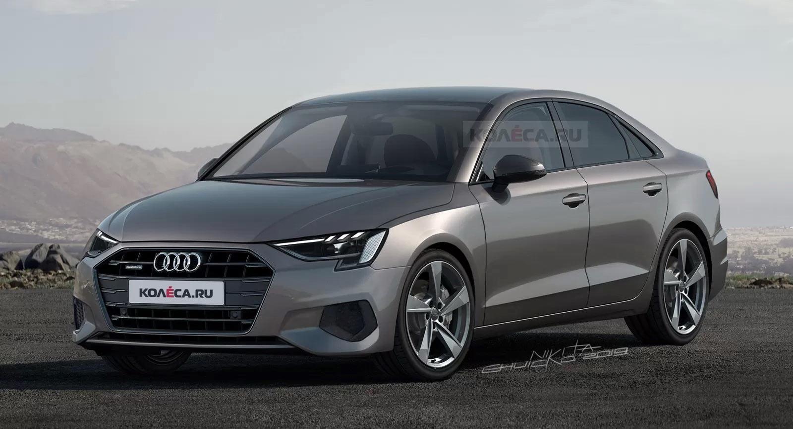 Audi A3 Sedan 2021 Black Concept, Manual Transmission ...