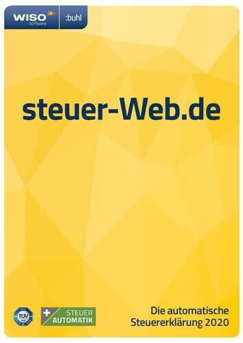 Buhl WISO Steuer-Web 2021 ab 25,99 € | Preisvergleich bei ...