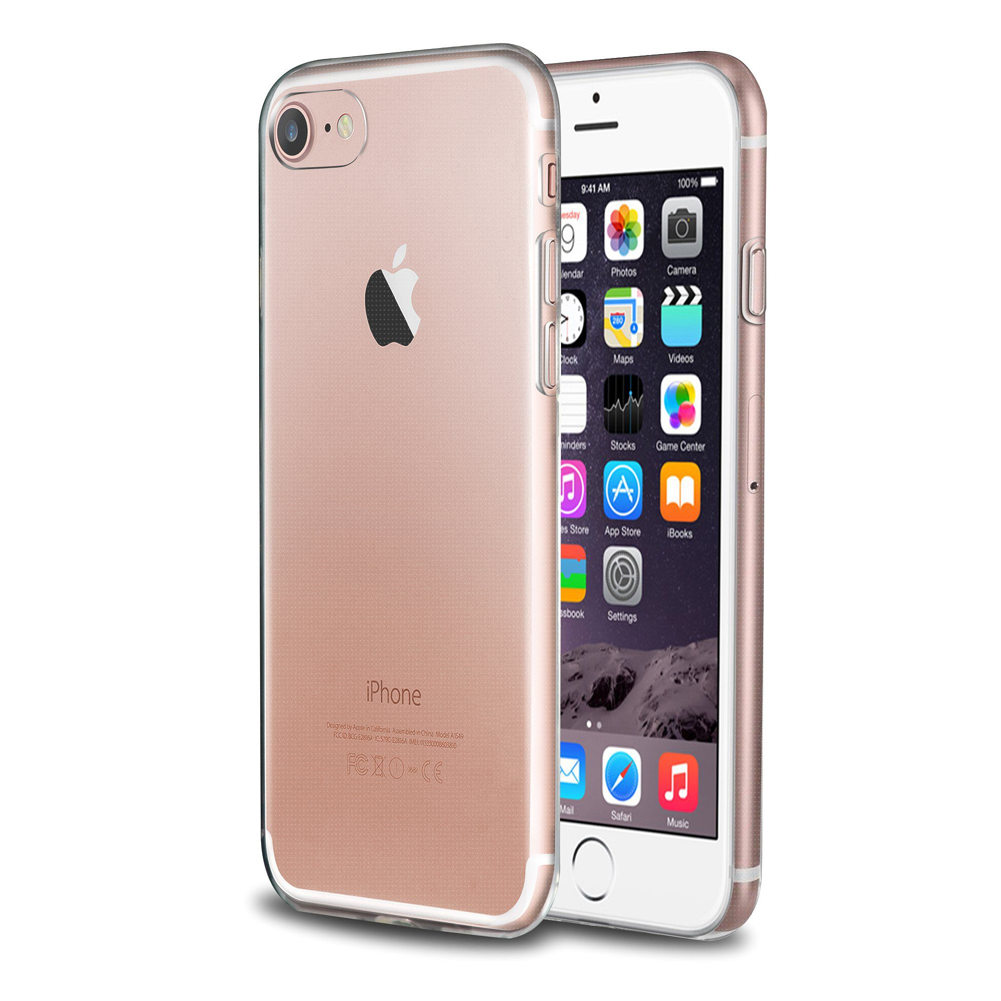 For iPhone SE (2nd generation) Case, by Insten Transparent ...