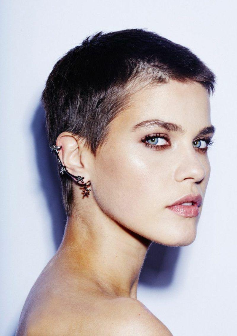 Kurze Haare stylen - 5 angesagte Kurzhaarfrisuren für ...