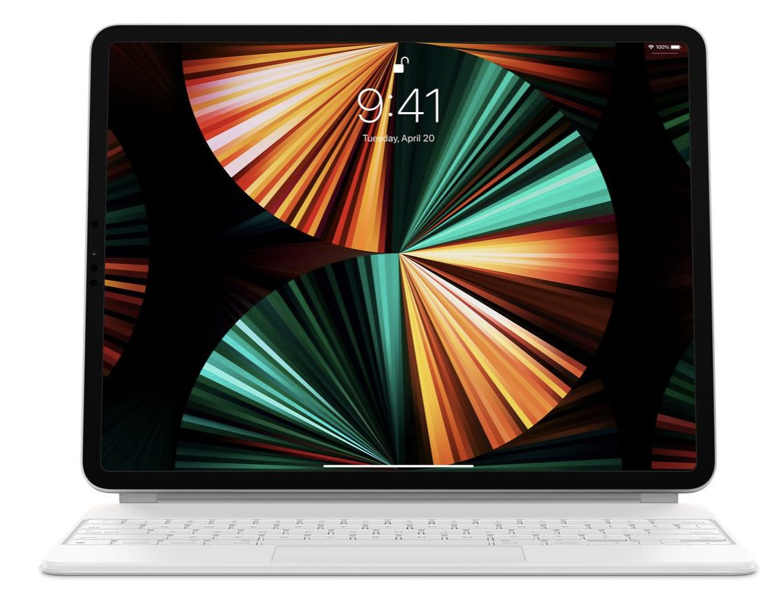 You'll need a new Magic Keyboard with the 2021 12.9-inch ...