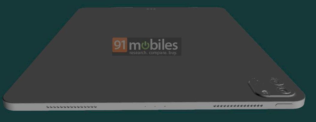 iPad Pro 2021 外觀搶先看,蘋果5G平版會搭載Touch ID? - 瘋先生