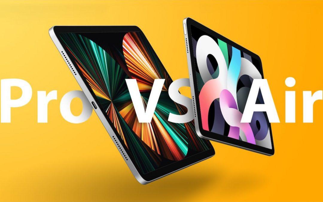 iPad Air 2020 vs iPad Pro 2021 | Cyberzone
