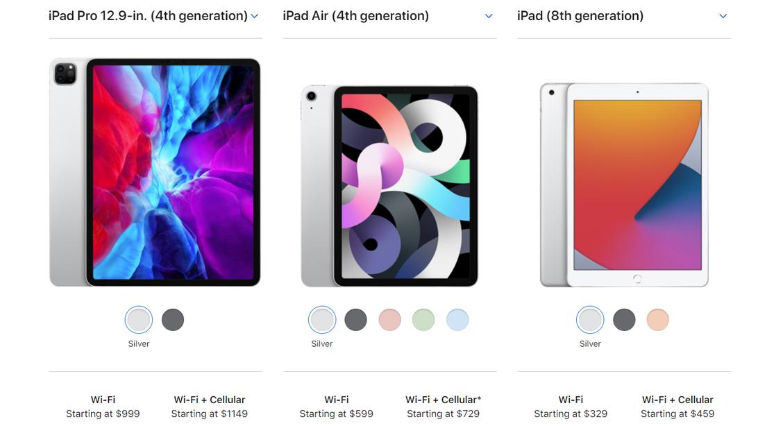 Acheter Meilleur iPad à obtenir en 2021: iPad Air 2020 ...
