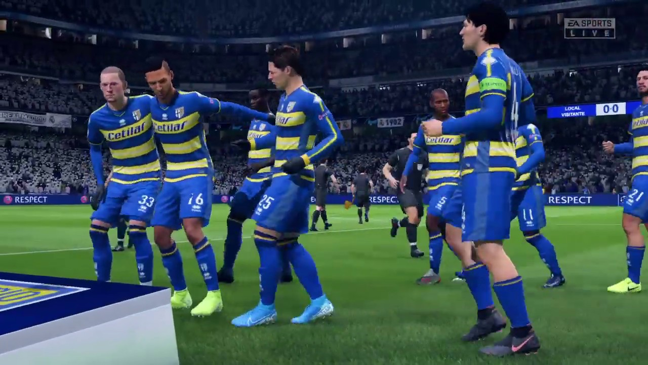 Real Madrid-Parma, Champions League 2020-2021 - YouTube