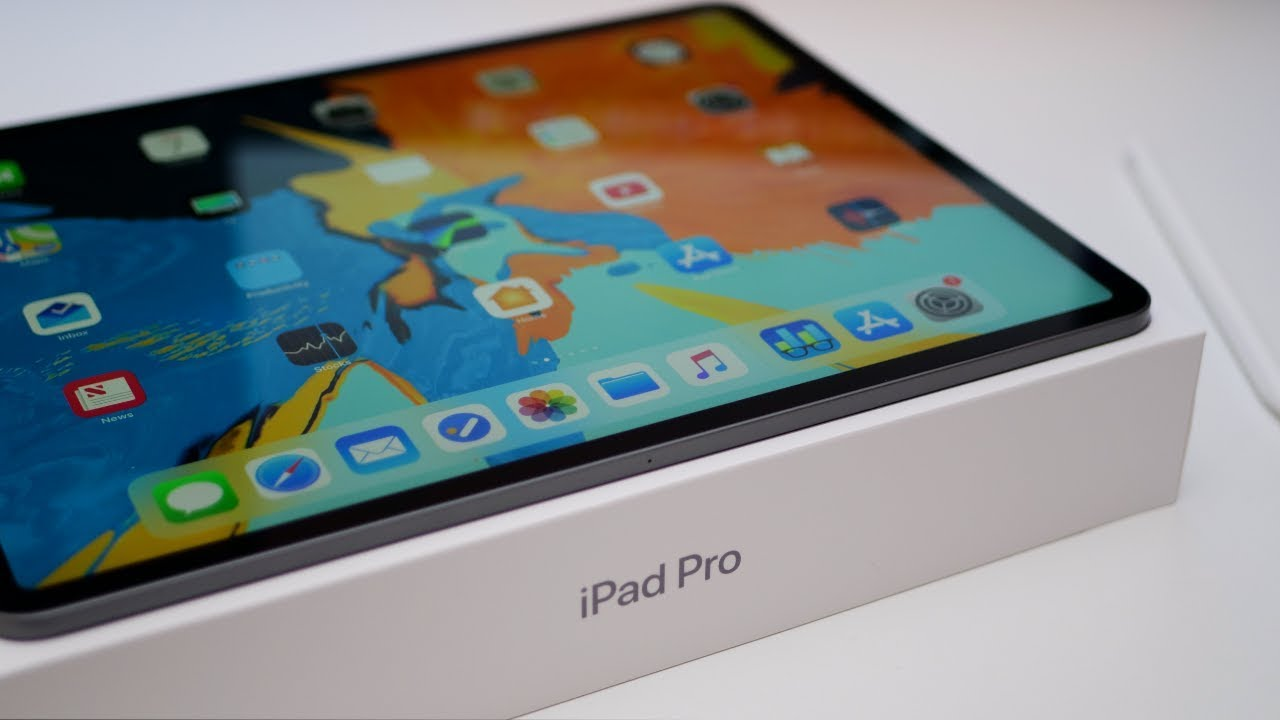 2018 iPad Pro - Unboxing, Setup and First Look - YouTube