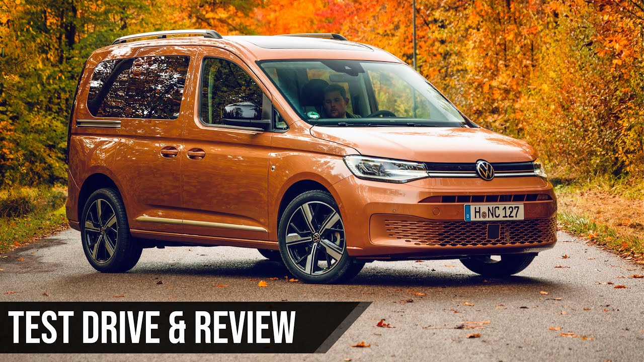 VW Caddy 5. Gen. | 2021 | Test | Review | PlanetVAG - YouTube