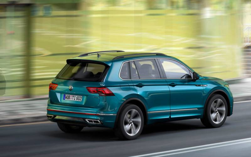 Volkswagen Tiguan eHybrid 2021 | SUV Drive