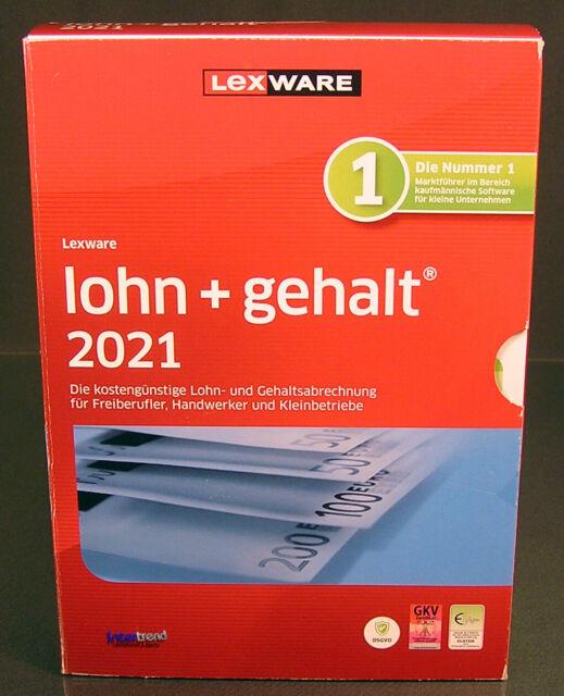 Lexware Lohn Gehalt 2021 mit 365 Tage Aktualitätsgarantie ...