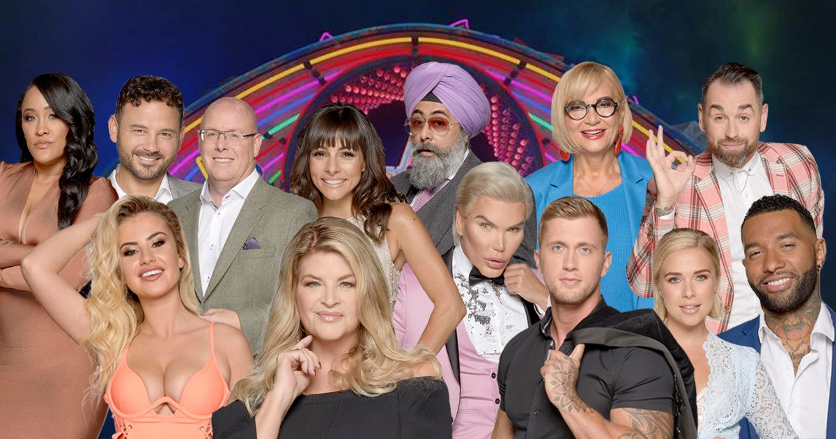 Celebrity Big Brother 2018 cast line-up as second eviction ...
