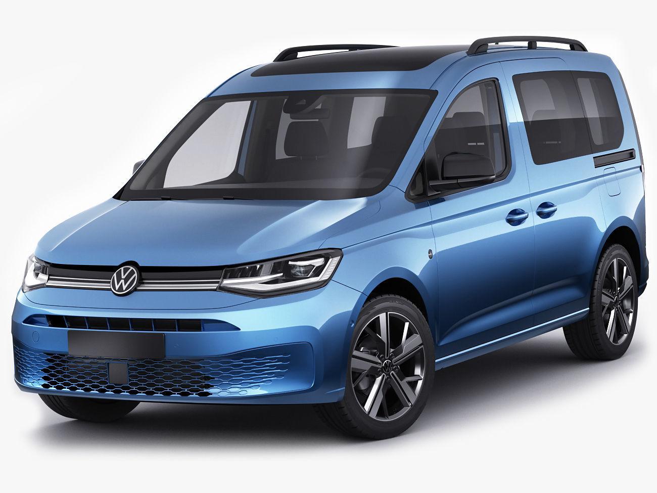3D Volkswagen Caddy Life 2021 | CGTrader