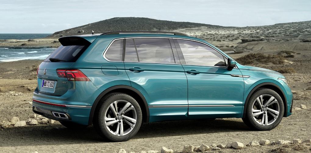 2021 VW Tiguan 2.0t SEL Premium R-Line Colors, Release ...