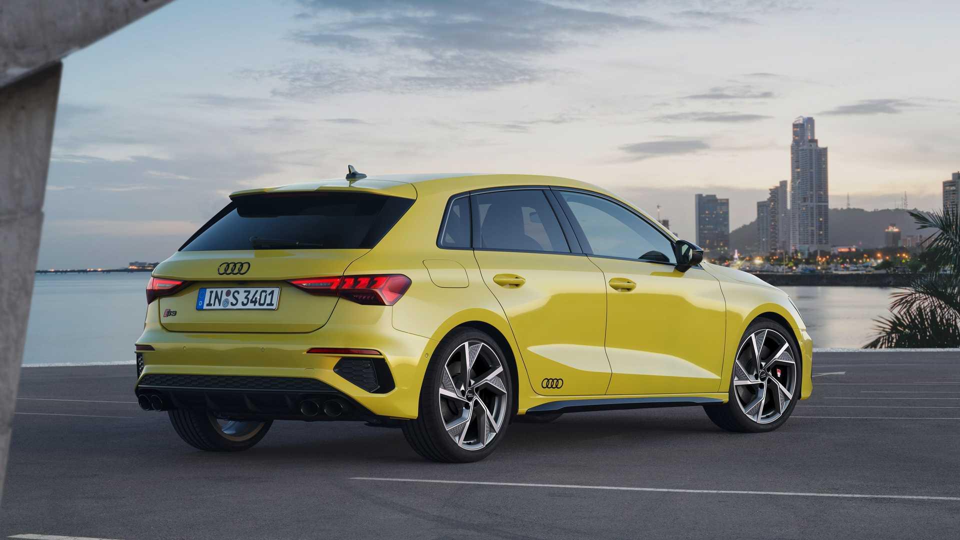 มาชม Audi S3 2021