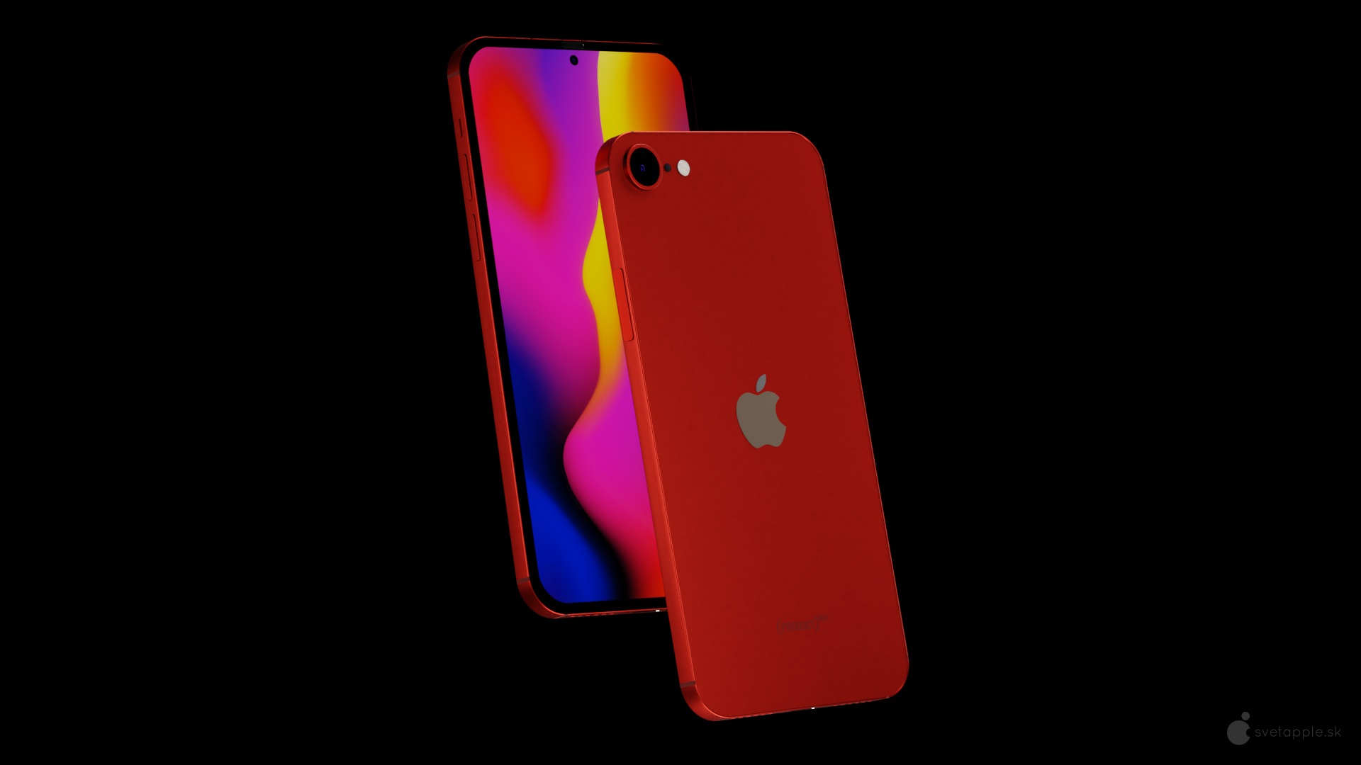 2021 iPhone SE Features an iPhone 12-Like Design With Flat ...