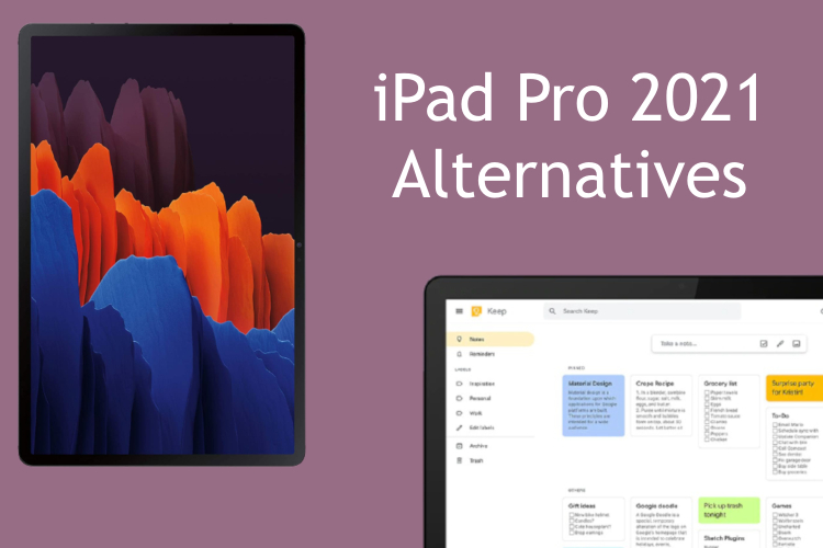 8 Best iPad Pro 2021 Alternatives You Can Buy | Beebom