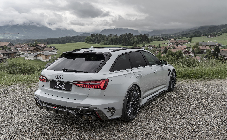 Gallery - Audi RS6-R C8 2021 Avant ABT - Glacier white ...