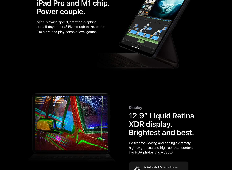 2021 Apple iPad Pro (11-inch, Wi-Fi, 128GB) - Silver (3rd ...
