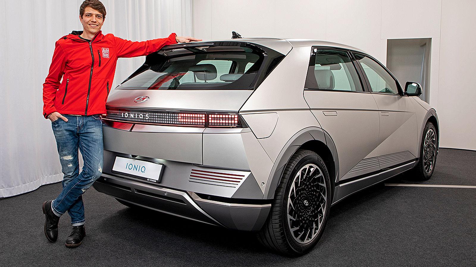 Hyundai Ioniq 5 (2021): Sitzprobe - Test - Vorstellung ...