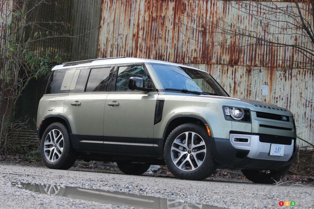 2021 Land Rover Defender review | Car Reviews | Auto123