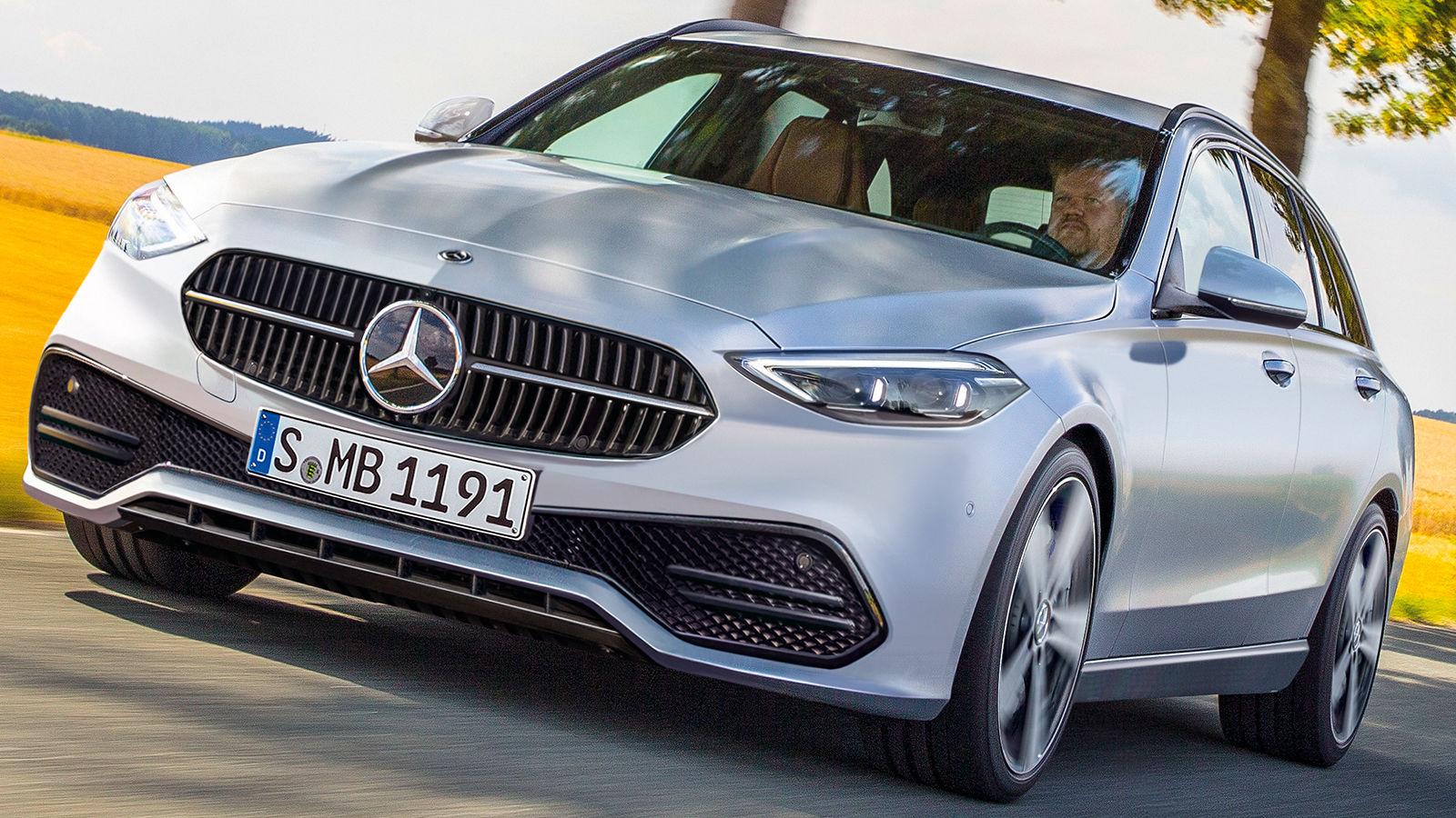 Mercedes C-Klasse/GLC (2021): Zukunft - neu - Ausblick ...