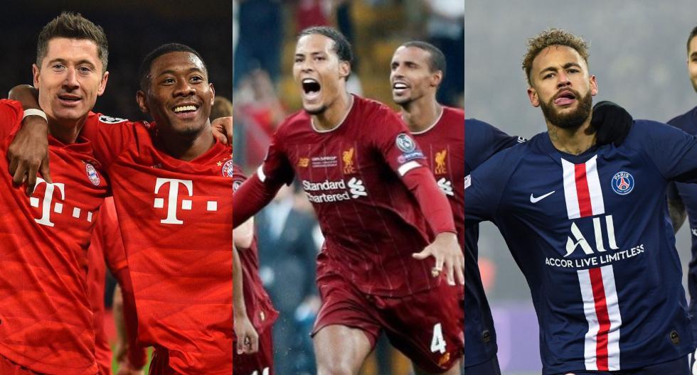 Champions League 2020-2021: los equipos que aseguraron su ...