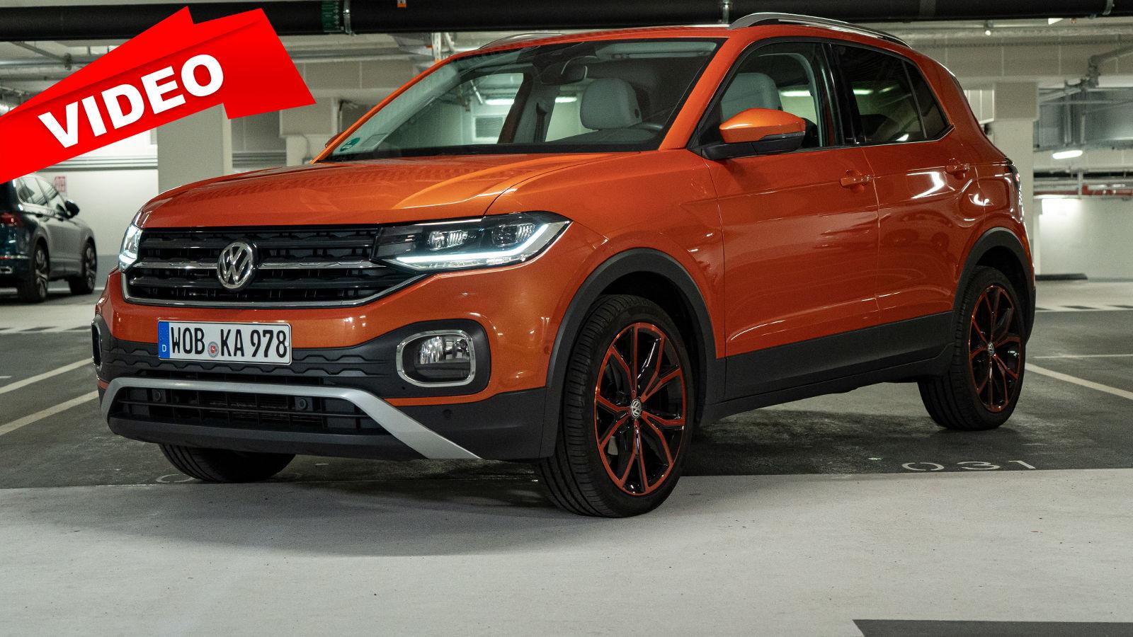 VW T-Cross 1.0 TSI (2021): Garage - Vorstellung - SUV ...