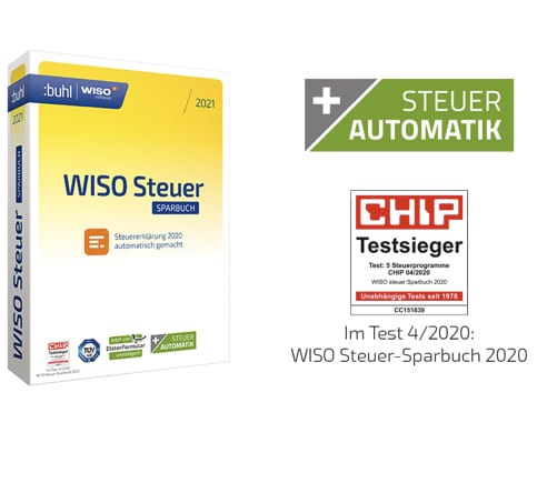 WISO Steuer-Sparbuch 2021 (für Steuerjahr 2020) // buhl ...