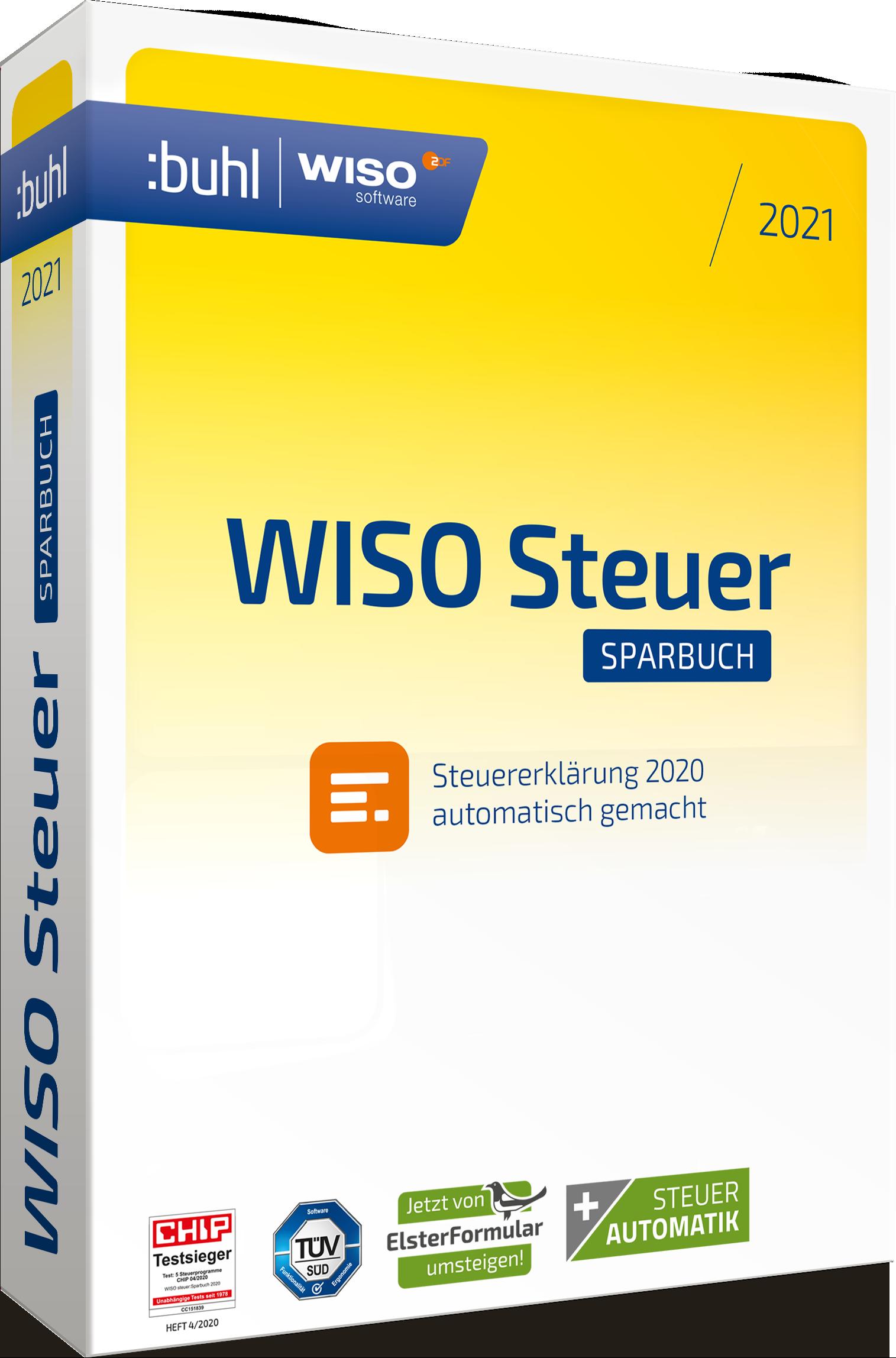 WISO steuer:Sparbuch 2021 (Steuerjahr 2020) bei best ...