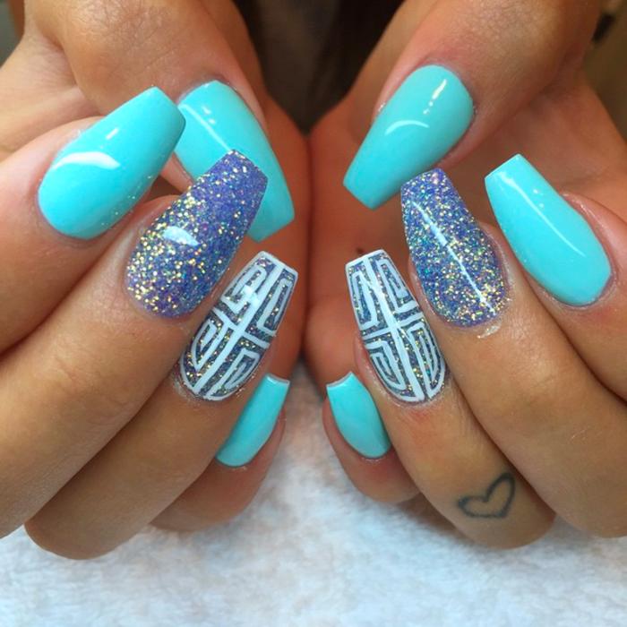 blauen Sommernägel 25+ besten - nagel-design-bilder.de