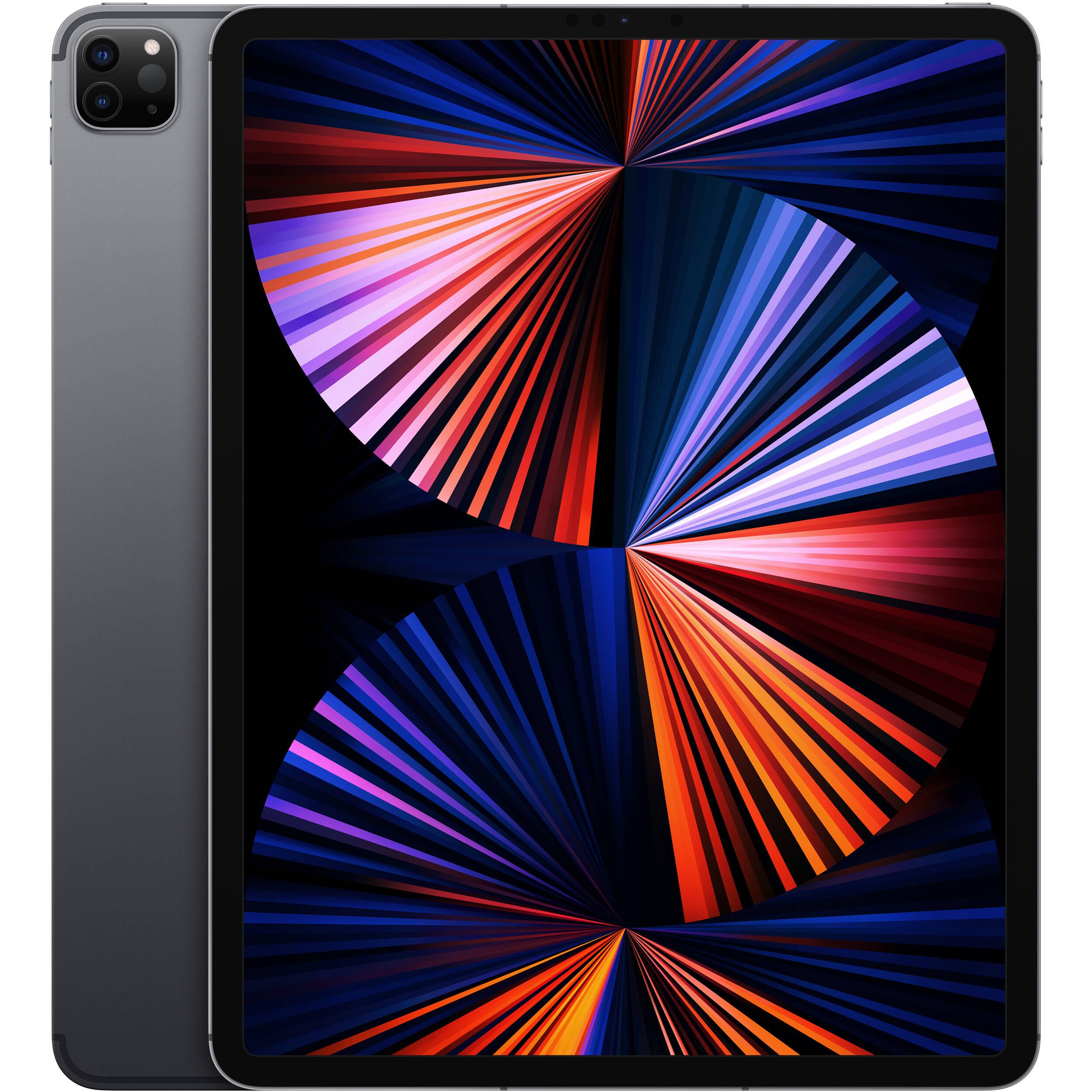 "Apple 12.9"" iPad Pro M1 Chip MHP43LL/A B&H Photo Video"