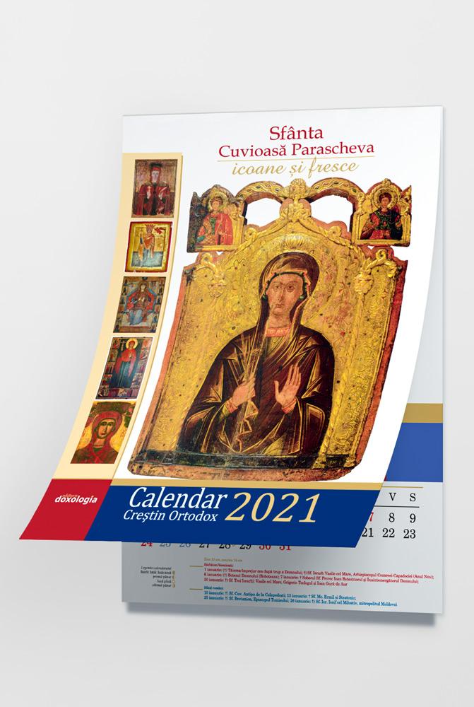 Calendar Creștin Ortodox 2021 cu icoane: Sfânta Cuvioasă ...