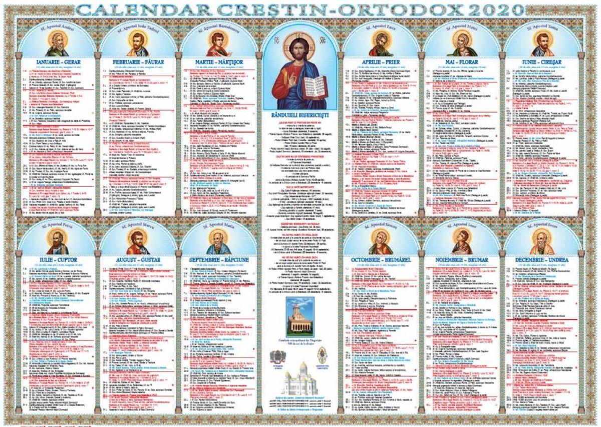 Calendar ortodox februarie 2020: Pe ce dată este ...