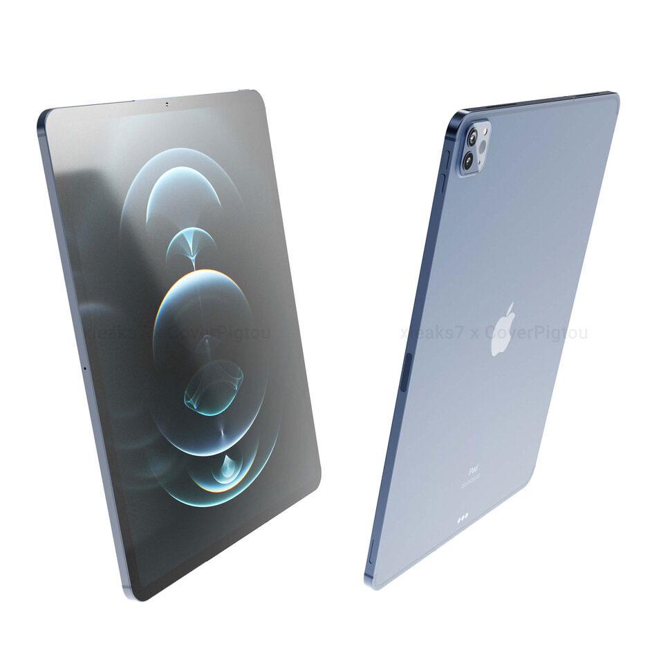 iPad Pro (2021) เผยภาพเรนเดอร์ล่าสุด จ่ออัปเกรดไปใช้ชิป ...